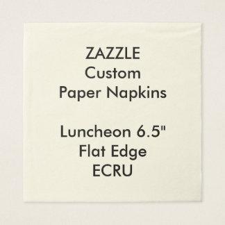 Serviette En Papier Serviettes de papier de grand ECRU déjeuner fait