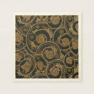 Serviette En Papier Serviettes de papier de textile français vintage