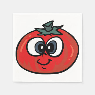 Serviette En Papier Serviettes de papier de visage de tomate