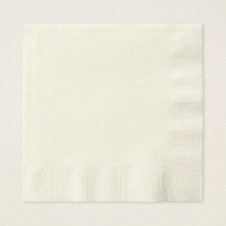 Serviette En Papier Serviettes de papier faites sur commande de