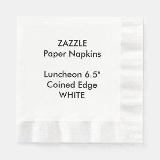 Serviette En Papier Serviettes de papier inventées par BLANC fait sur