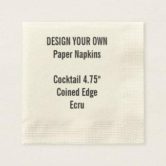 Serviette En Papier Serviettes de papier inventées par ECRU