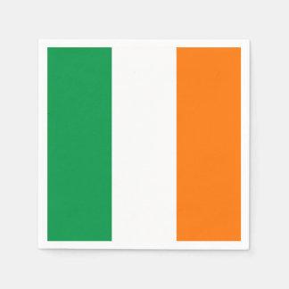 Serviette En Papier Serviettes de papier patriotiques avec le drapeau