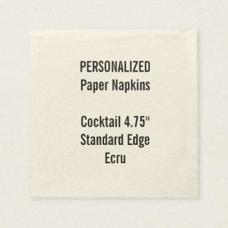 Serviette En Papier Serviettes de papier personnalisées de petit