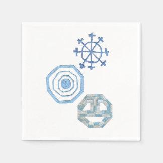 Serviette En Papier Serviettes spéciales de flocon de neige