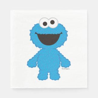 Serviette En Papier Style de laine de monstre de biscuit