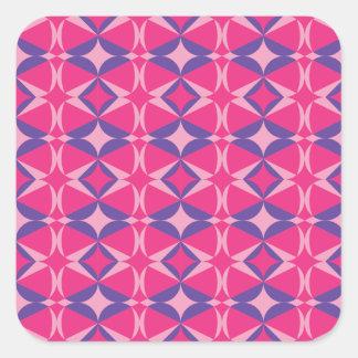 serviette fluorescente de table sticker carré