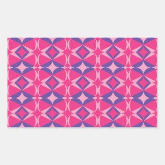 serviette fluorescente de table sticker rectangulaire