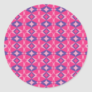 serviette fluorescente de table sticker rond