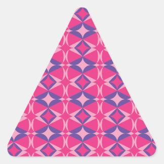 serviette fluorescente de table sticker triangulaire