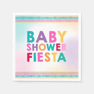 Serviette Jetable Baby shower de Mexicain de serviette de baby