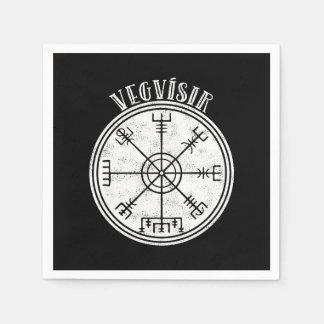 Serviette Jetable Boussole d'islandais de VEGVISIR