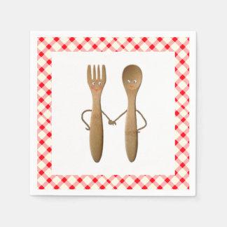 Serviette Jetable Douche de couples de BBQ