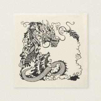 Serviette Jetable dragon