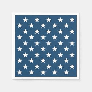 Serviette Jetable Étoiles de Jour de la Déclaration d'Indépendance