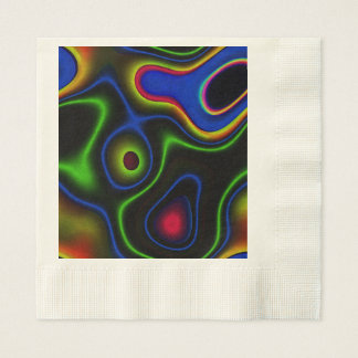 Serviette Jetable Imaginaire vibrant 6