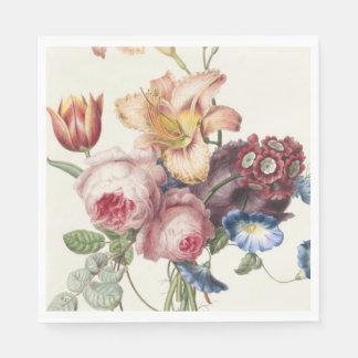 Serviette Jetable Joli bouquet
