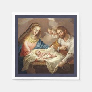 Serviette Jetable La Natividad