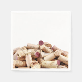 Serviette Jetable Le vin bouche des serviettes