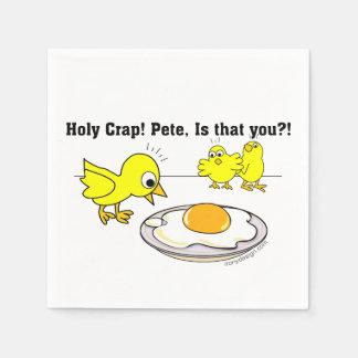 Serviette Jetable Merde sainte ! Peter, est que vous ?