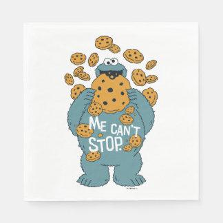 Serviette Jetable Monstre de biscuit du Sesame Street | - je ne peut