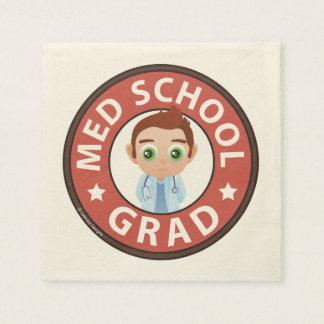 Serviette Jetable Obtention du diplôme de Faculté de Médecine