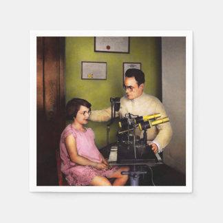 Serviette Jetable Optométriste - l'examen de la vue 1929