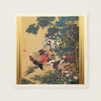 Serviette Jetable Papier d'art chinois de Japonais de la nouvelle