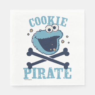 Serviette Jetable Pirate de biscuit