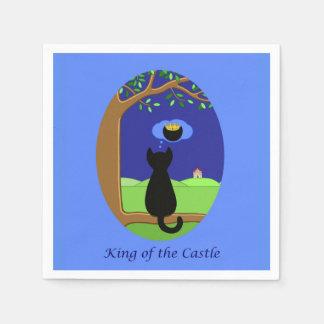 Serviette Jetable Roi du château