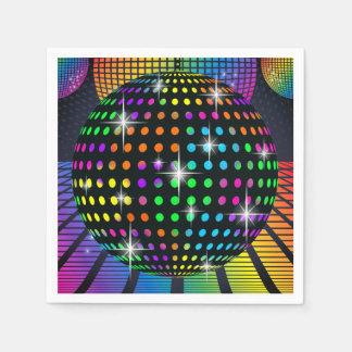 Serviette Jetable Serviette de partie de disco