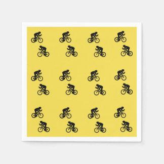 Serviette Jetable Serviettes de cycliste, serviettes