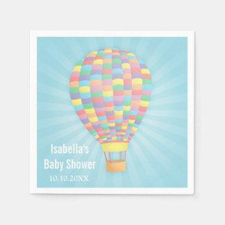 Serviette Jetable Serviettes de papier chaudes de baby shower de