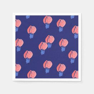 Serviette Jetable Serviettes de papier de cocktail de ballons à air