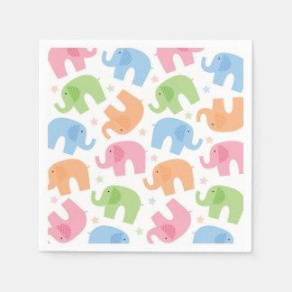 Serviette Jetable Serviettes de papier d'éléphants
