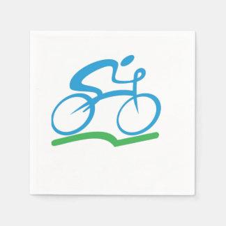 Serviette Jetable Serviettes de papier faisantes du vélo