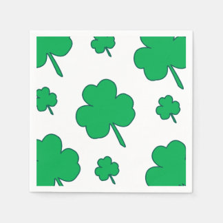 Serviette Jetable Shamrock