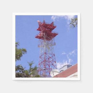 Serviette Jetable Tour de telecom de radio de relais à micro-ondes