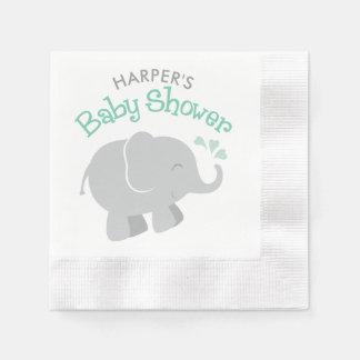 Serviette Jetable Vert en bon état et gris des serviettes | de baby