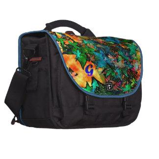 Serviette multicolore d'ordinateur portable de sac ordinateur portable