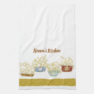 Serviette personnalisable de la cuisine de Nonna