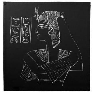 Serviettes blanches de Nefertari