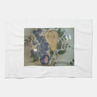 Serviettes de cuisine de fruit serviette éponge