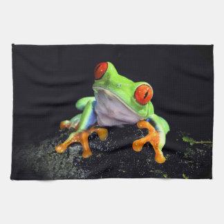 Serviettes de cuisine de la grenouille 3