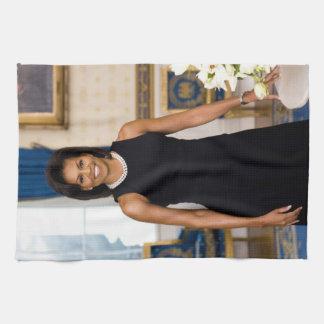 Serviettes de cuisine de Michelle Obama