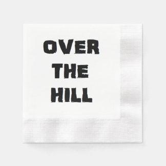 """Serviettes de papier """"au-dessus de colline"""" serviettes en papier"""