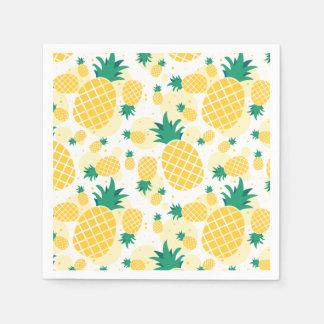 Serviettes de papier de cocktail standard d'ananas serviette en papier