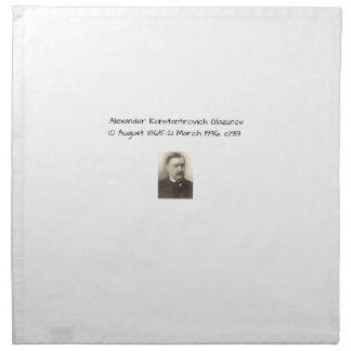 Serviettes De Table Alexandre Konstamtinovich Glazunov c1913
