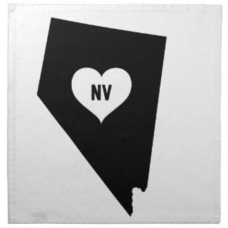 Serviettes De Table Amour du Nevada