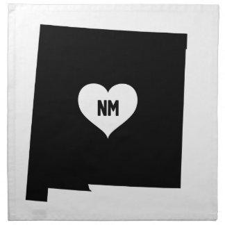 Serviettes De Table Amour du Nouveau Mexique